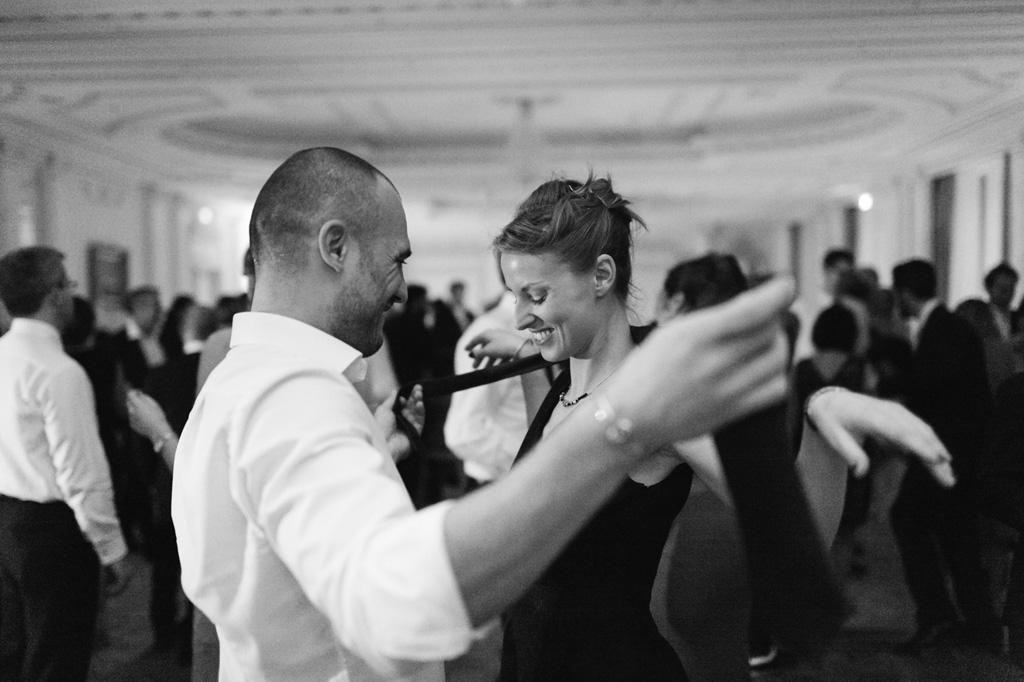 Gli ospiti proseguono con balli di coppia