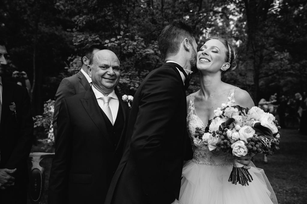 Arrivo della Sposa con Bouquet - Reportage