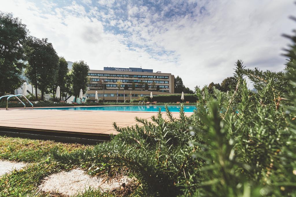 Uno scorcio dell'hotel ripreso dal fotografo Della Savia
