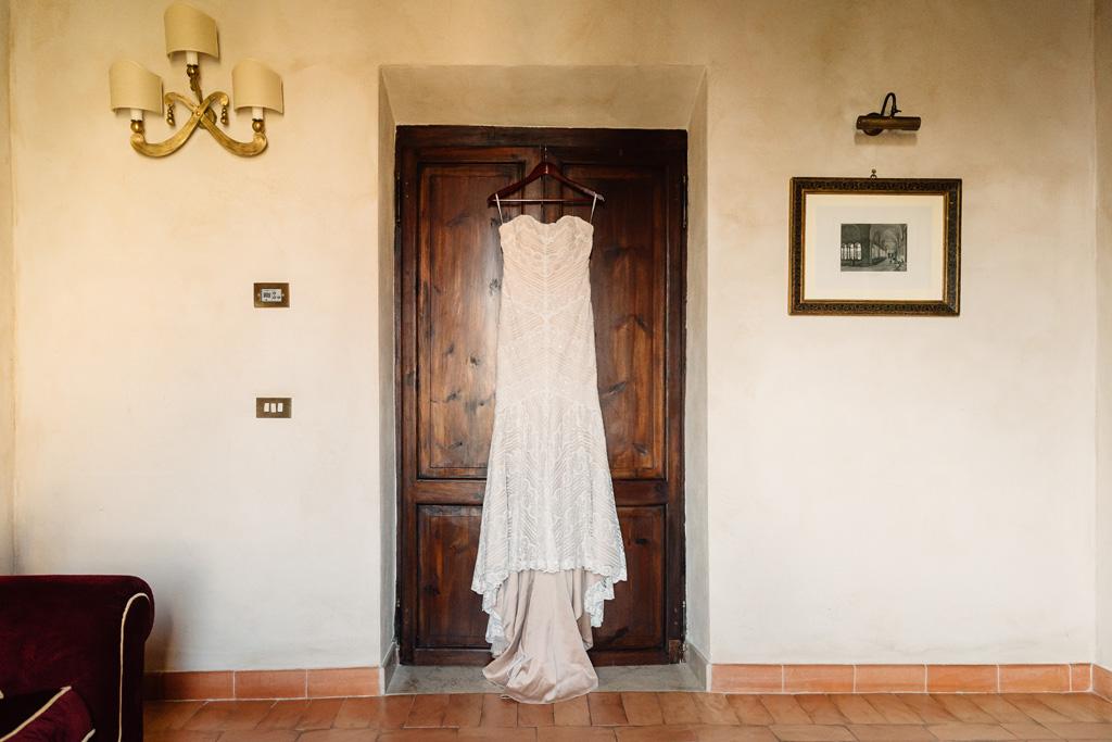 Il vestito della sposa Brittney