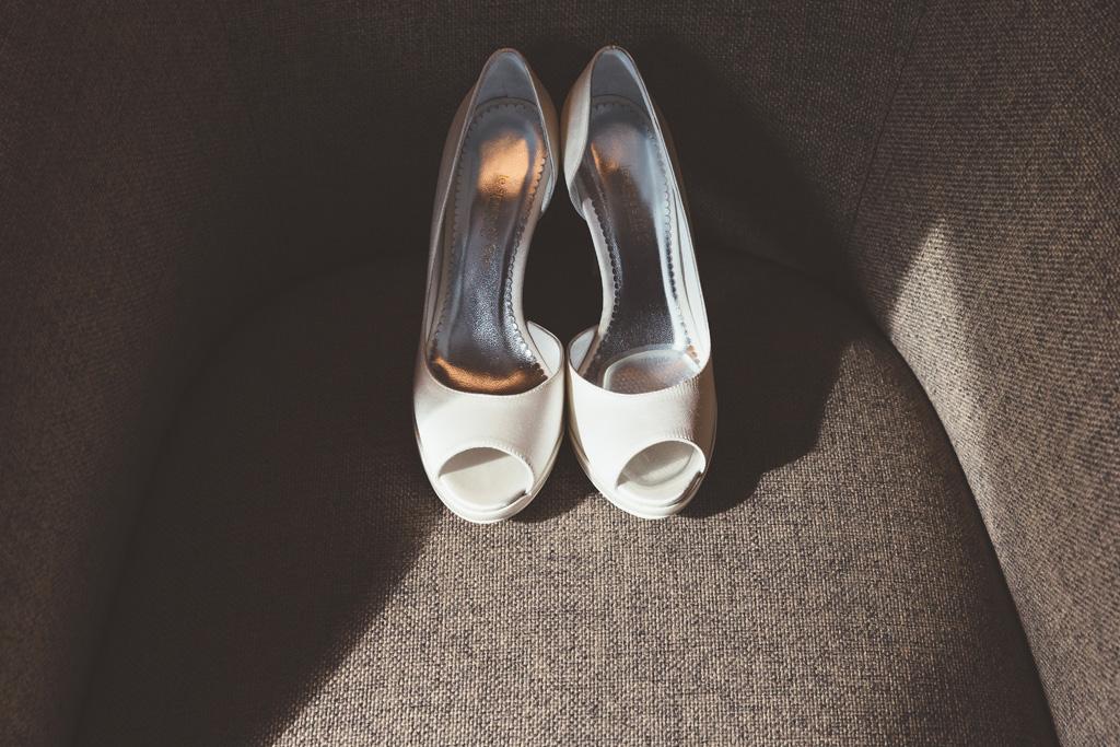 Le scarpe della sposa Daniela