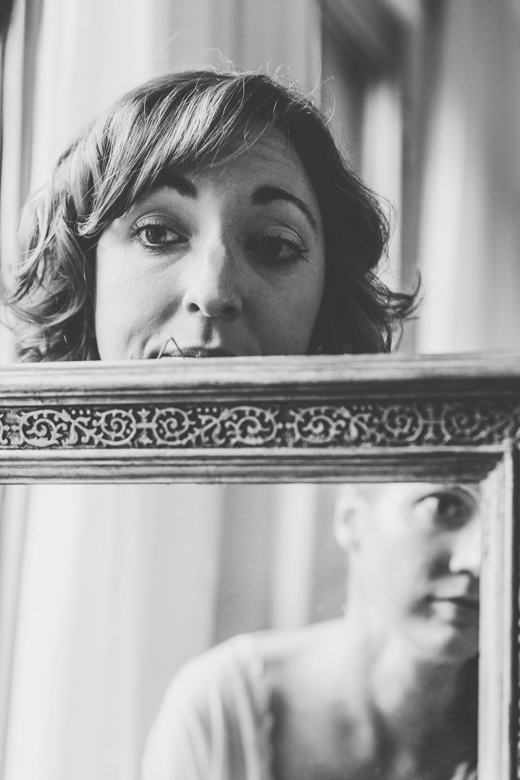 Un gioco di specchi fotografato da Della Savia Alessandro