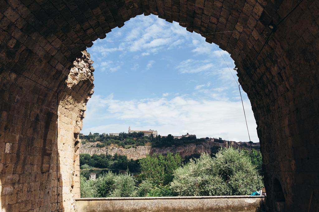 Uno scorcio del paesaggio di Orvieto