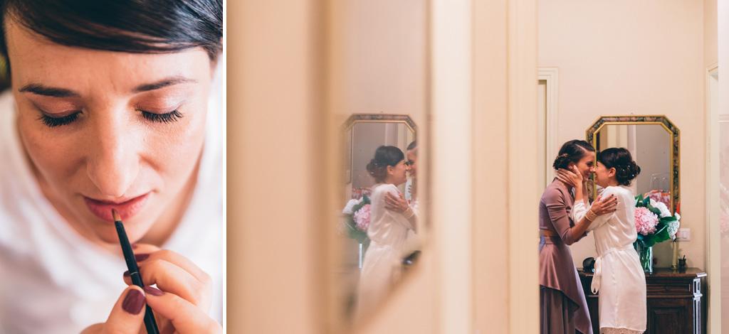 Un gioco di specchi immortalato dal fotografo Alessandro Della Savia