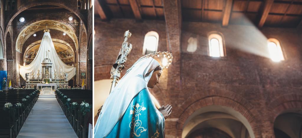 Diversi dettagli interni ed esterni della Basilica Santa Maria Maggiore