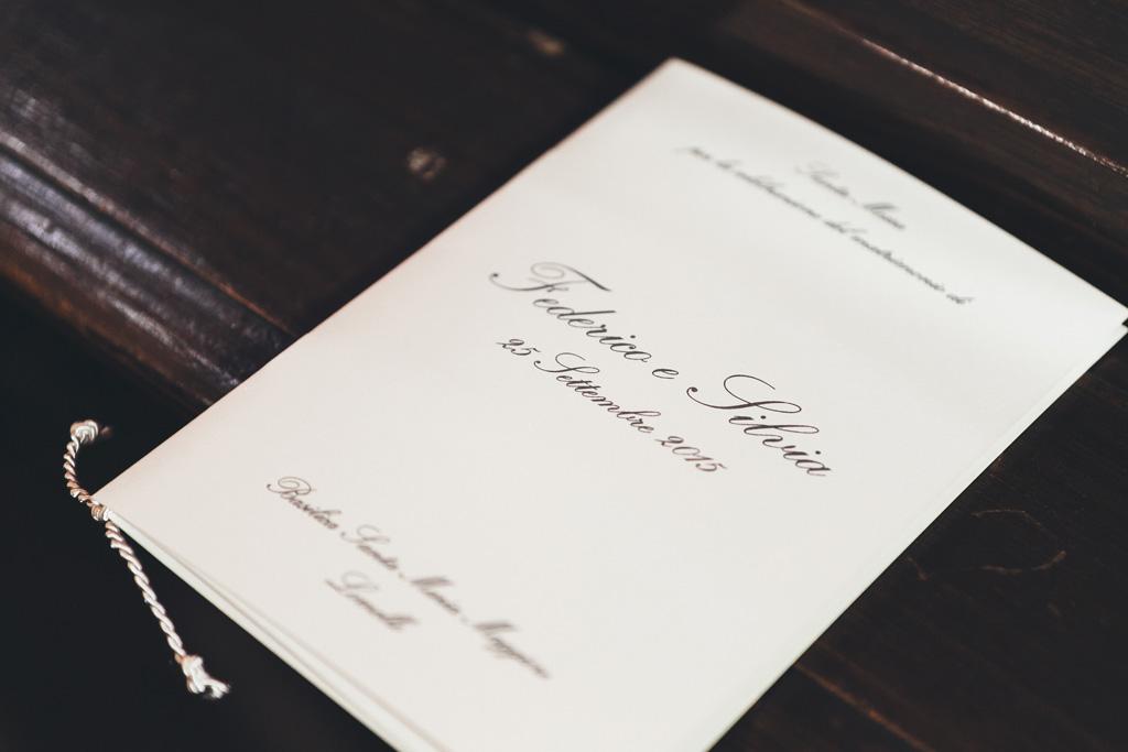 Federico e Silvia si sposano il 25 settembre 2015