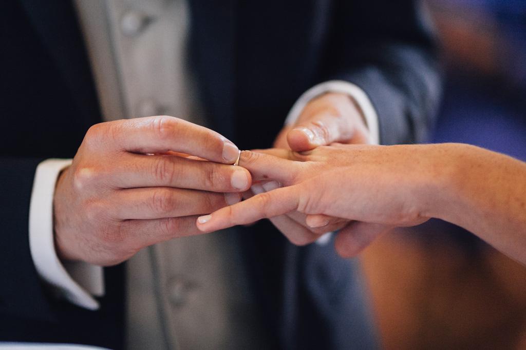 Un dettaglio della fede nunziale