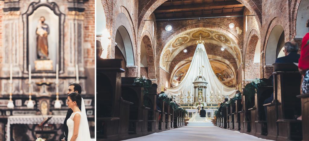Un inquadratura riprende il corridoio della Basilica di Santa Maria Maggiore