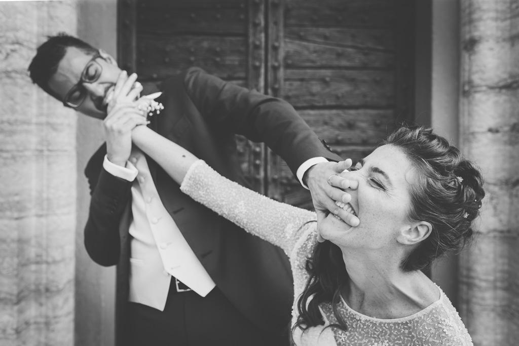 Andrea e Arianna giocano sotto la lente del fotografo Alessandro Della Savia