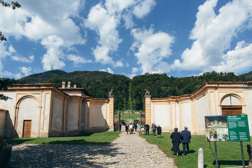 Un campo lungo di Villa Della Porta Bozzolo a Varese