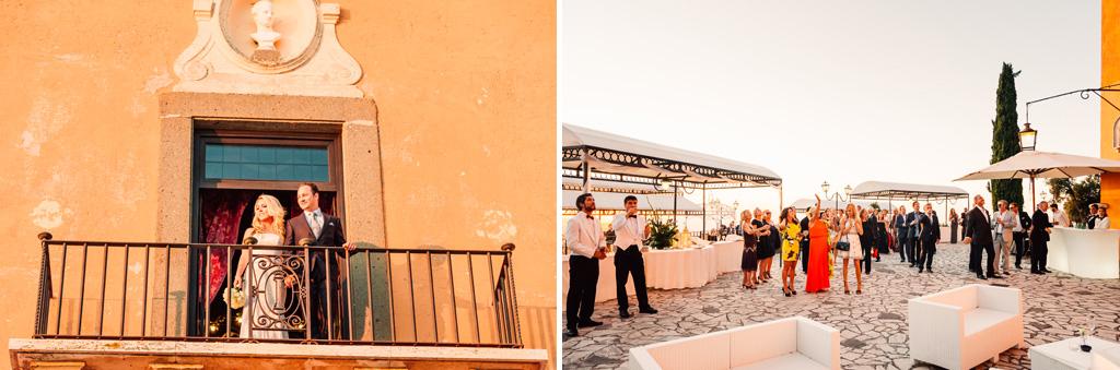 Alcuni scatti degli della splendida location di Villa del Cardinale a Rocco di Papa