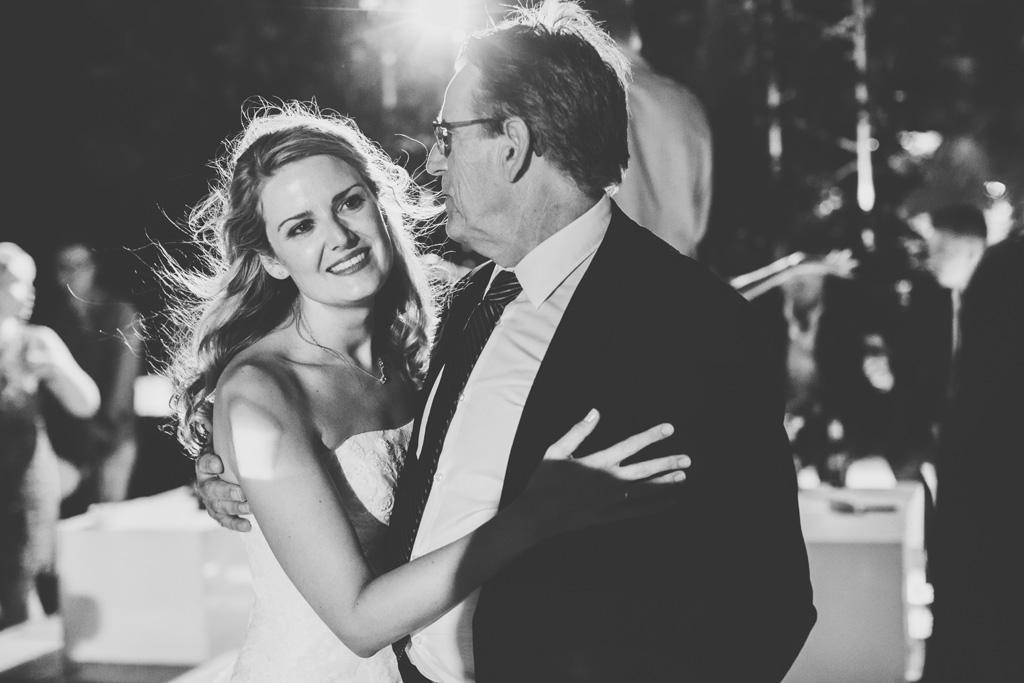 Il padre danza con la sposa Kathrin