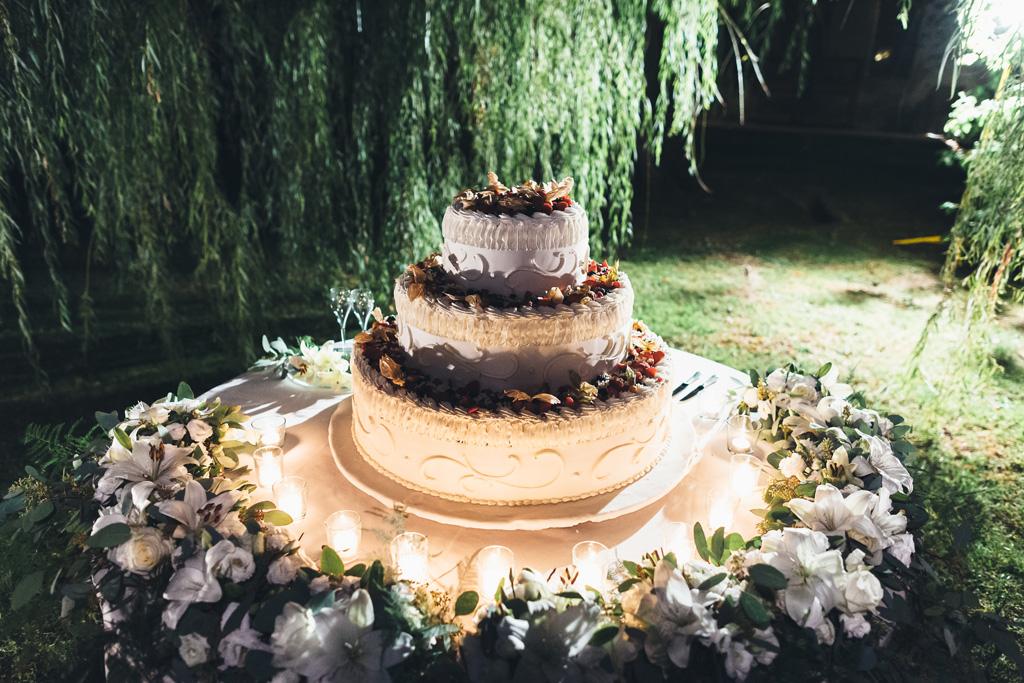 La torta nunziale di Federico e Silvia