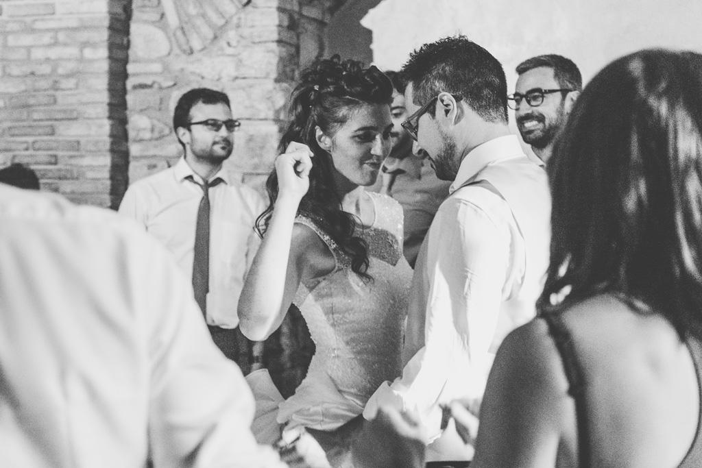 La sposa si scatena