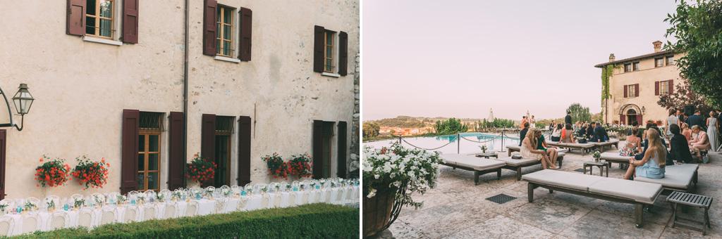 Alcuni dettagli della suggestiva località vicino al Lago di Garda