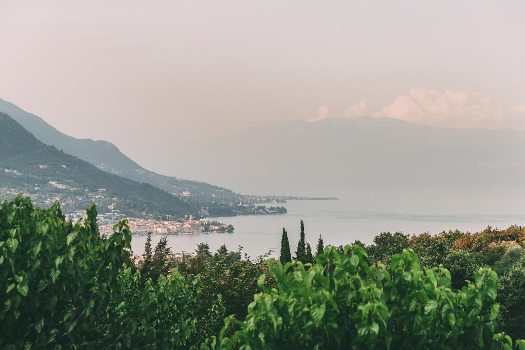 Una panoramica del Lago di Garda