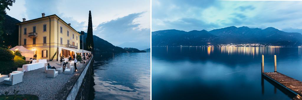 Il meraviglioso paesaggio del Lago di Como