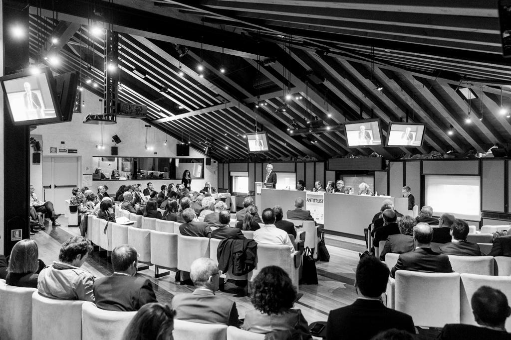 Una panoramica della conferenza del Convegno per l'Antitrust ripresa da Alessandro Della Savia