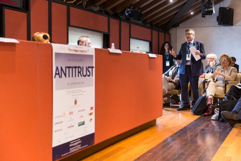 Il convegno per l'Antitrust è in fase di conlusione