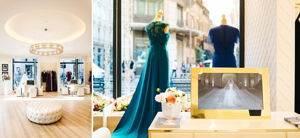 reputable site fc6f5 b41c2 Fotografo Eventi • Inaugurazione negozio Pronovias a Roma ...