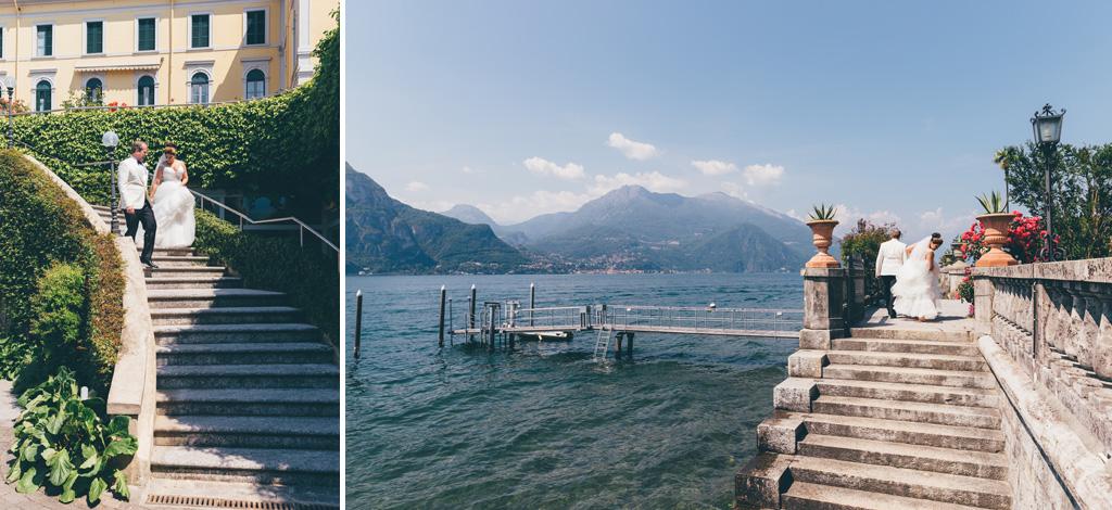 La panoramica del Lago di Como