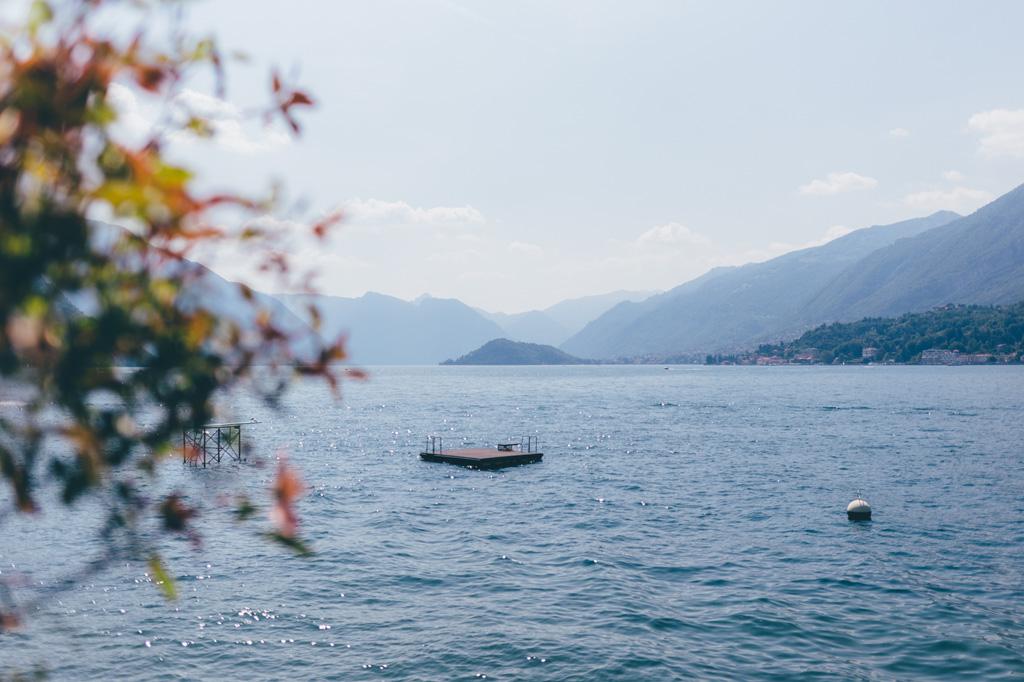 Il paesaggio del Lago di Como