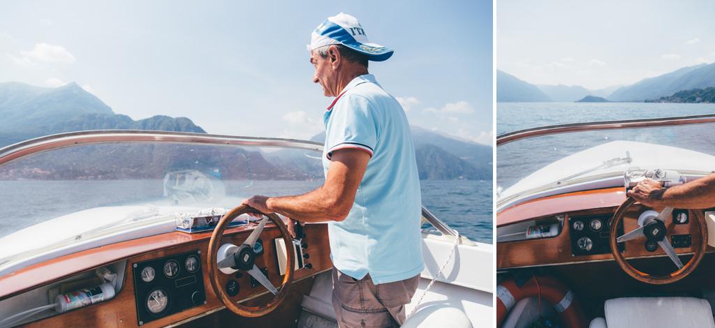 Il paesaggio del Lago di Como dal punto di vista del comandante navale