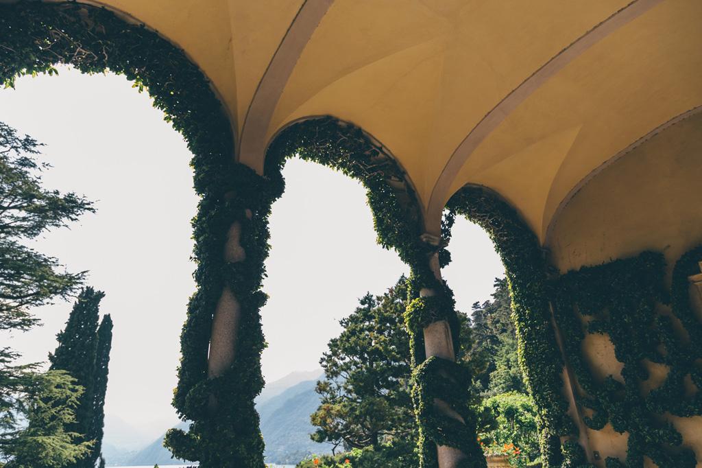 Dettagli esterni di Villa del Balbaniello