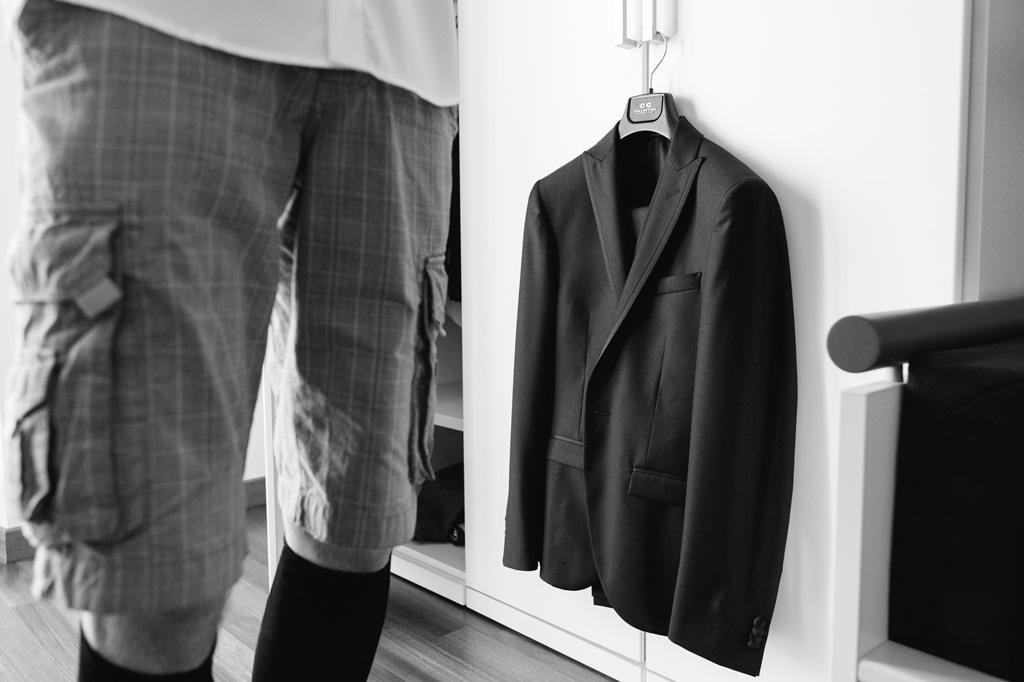 La giacca dello sposo