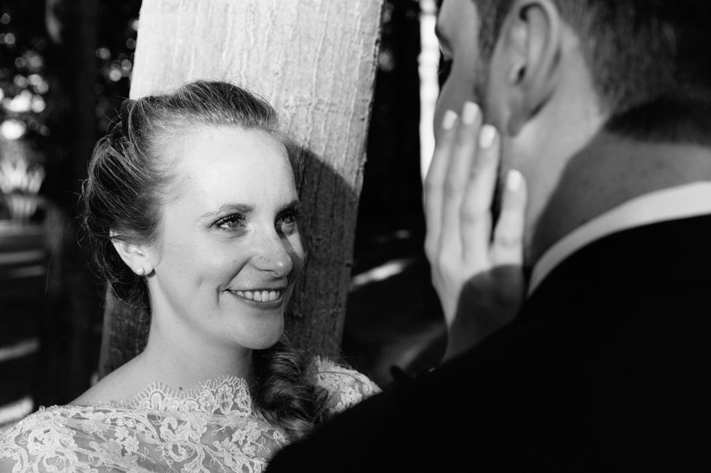 Lo sguardo incantato della sposa Sarah