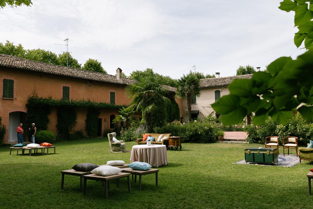 Il giardino del Convento dell'Annunciata a Medole