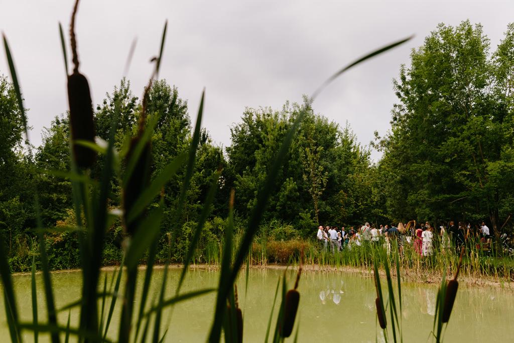 Il laghetto del giardino del Convento dell'Annunciata