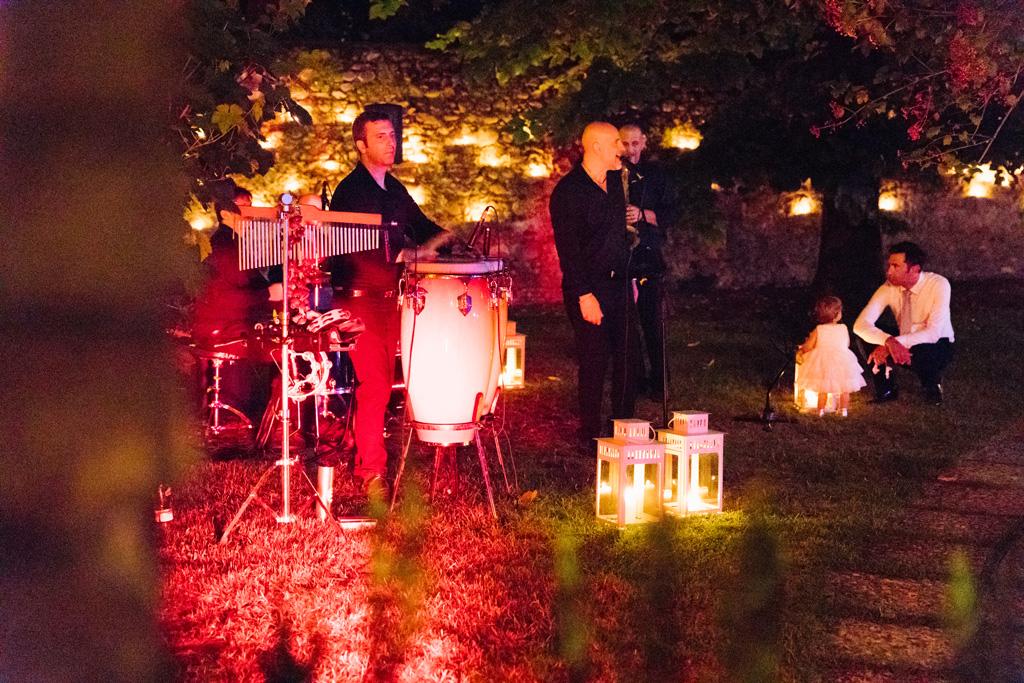 La band suona al matrimonio di Laura e Matteo nel Convento dell'Annunciata