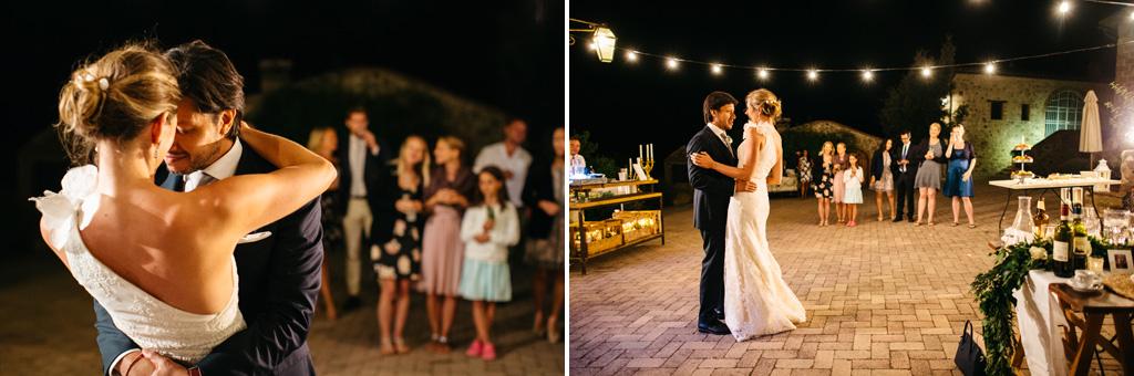 Il primo ballo di Carlos e Catherine
