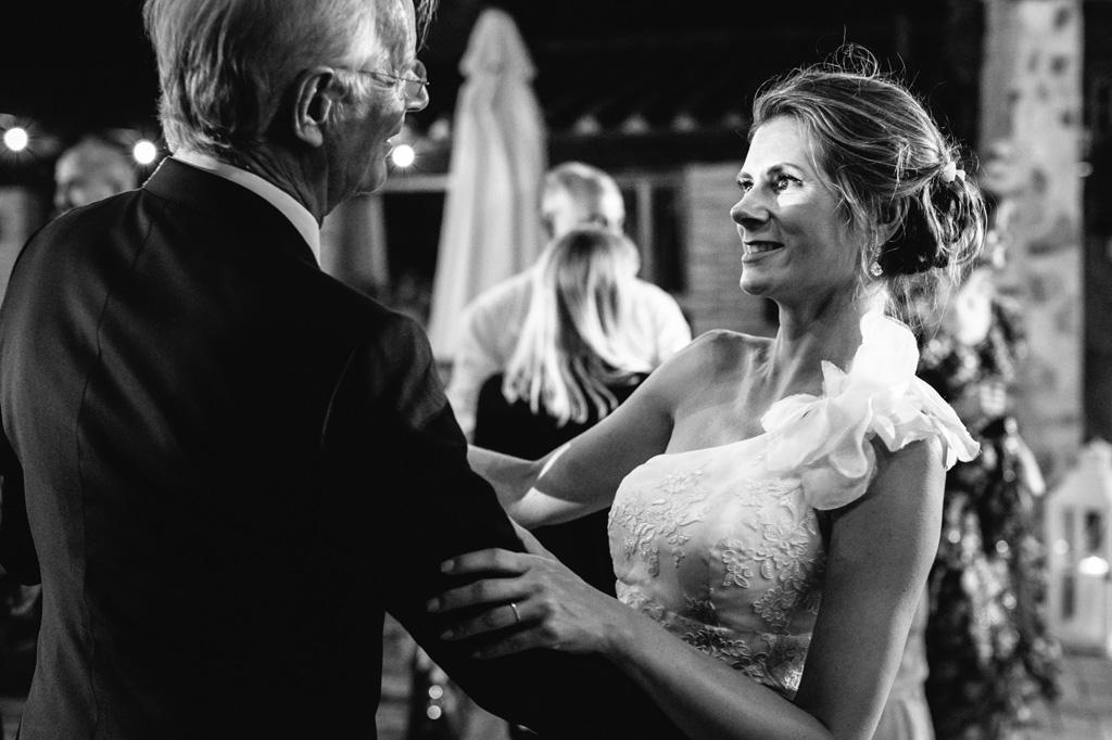 Il ballo della sposa con il padre