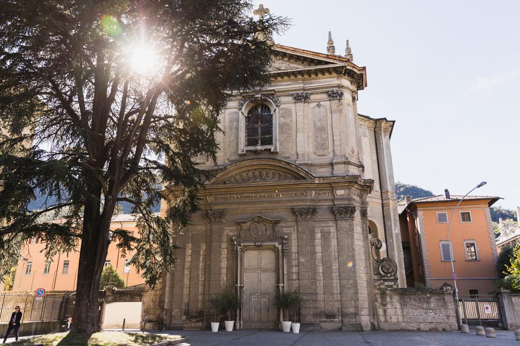 La chiesa del Collegio Gallio di Como