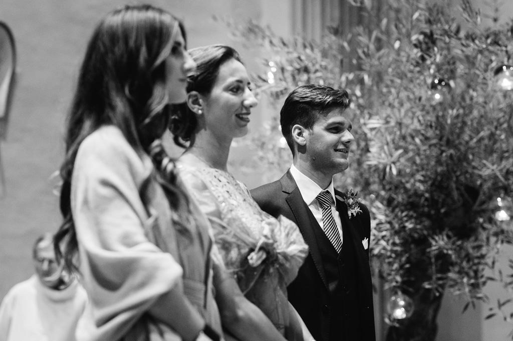 I testimoni del matrimonio di Federico e Carola