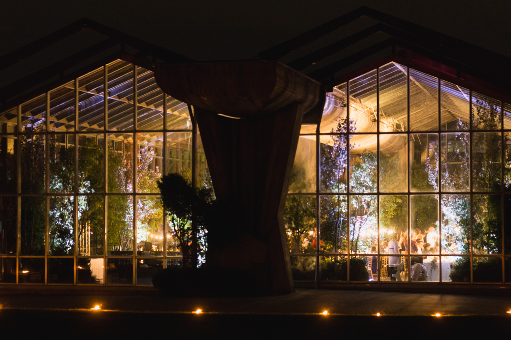 La serra Rattiflora vista dall'esterno