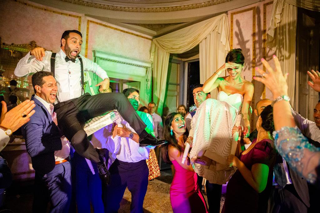 divertimento esilarante ricevimento matrimonio shahram e samin villa parravicini revel lago di como