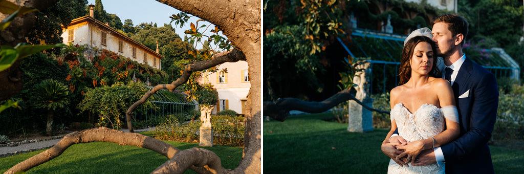 Ritratto di Tom e Indigo a Villa Pizzo
