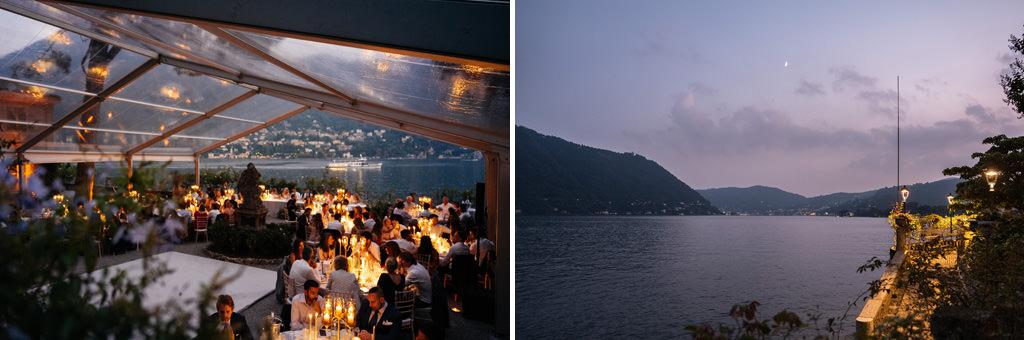 Villa Pizzo location del matrimonio di Tom e Indigo sul Lago di Como
