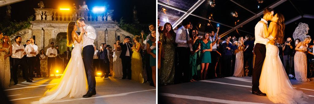 Il primo ballo di Tom e Indigo