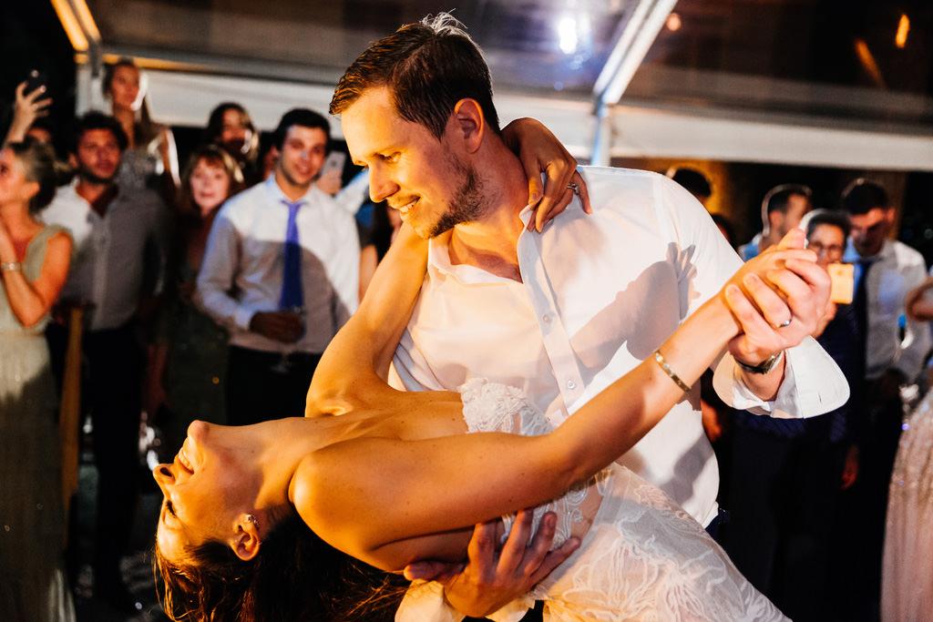 Il casquè della sposa durante i balli