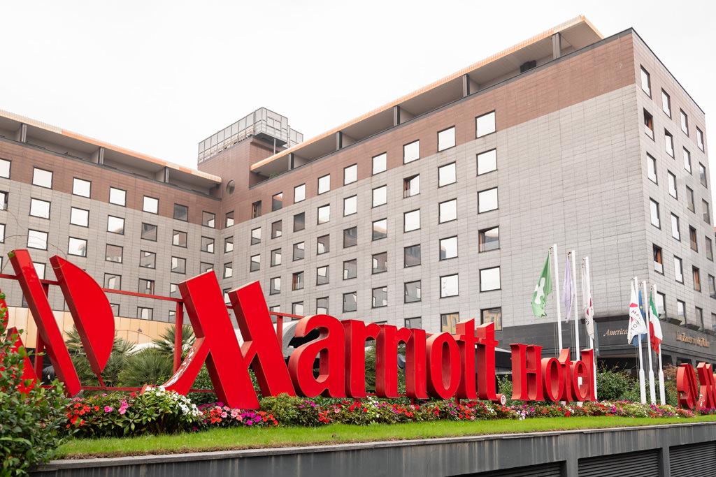La location in cui si svolgerà l'EUGA, presso Mariotti Hotel di Milano