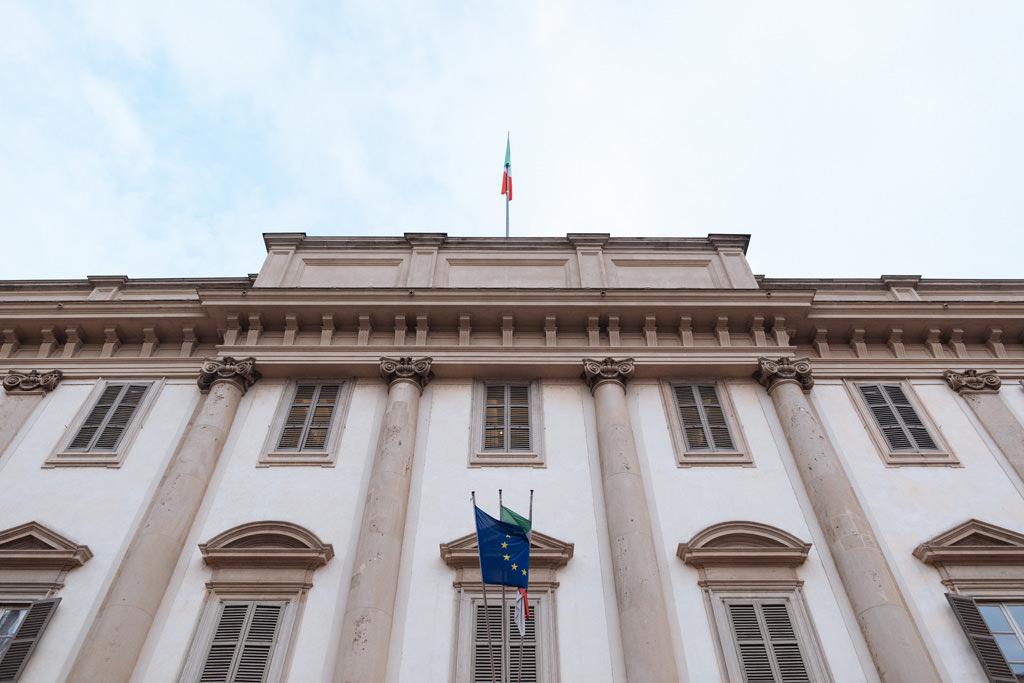 Palazzo Reale di Milano location della cerimonia