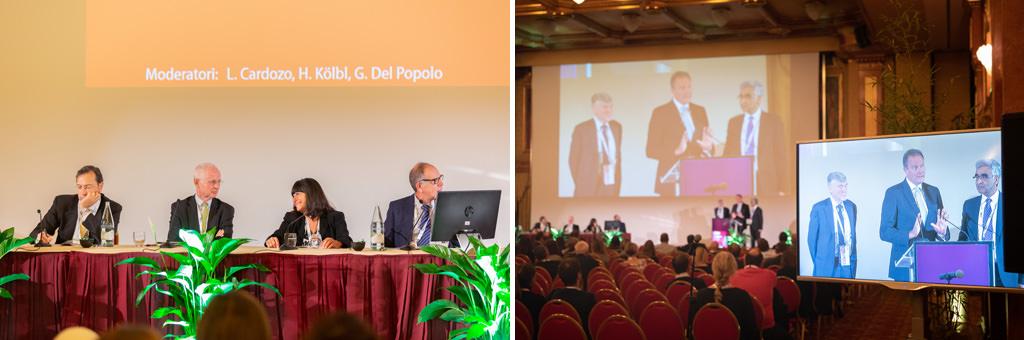 I moderatori: L. Carodzo, H. Kölbl, G. Del Popolo