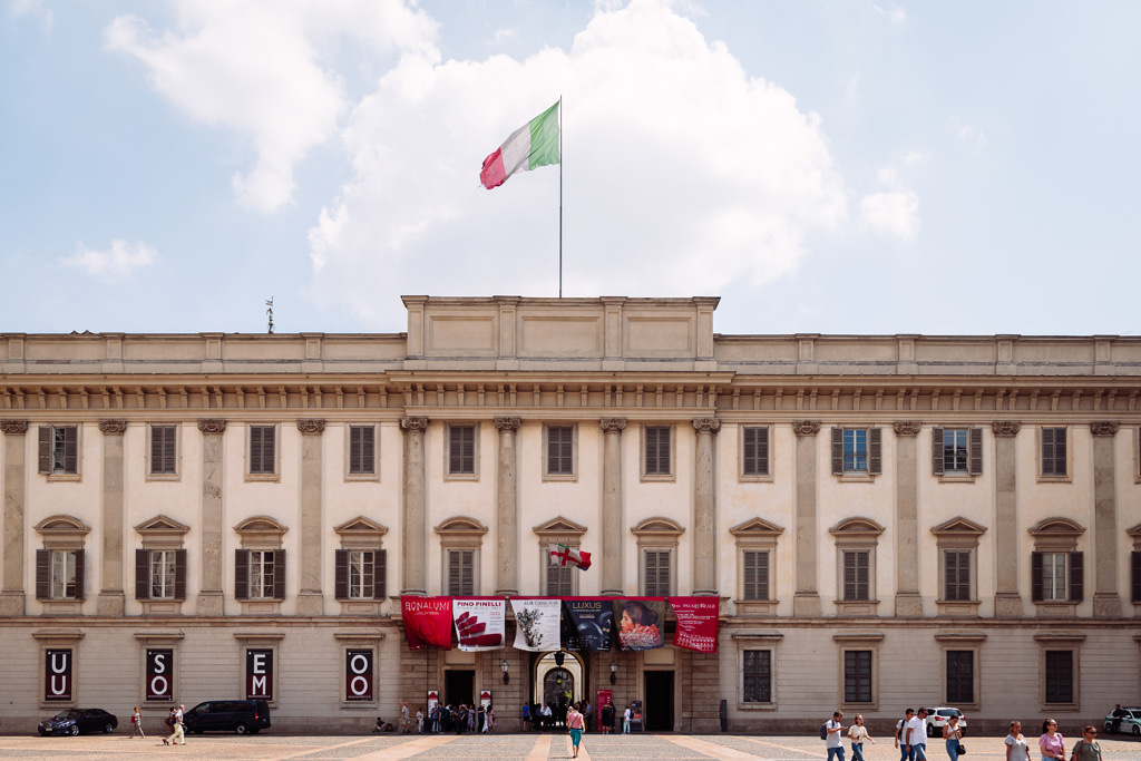 Palazzo Reale location della cerimonia a Milano
