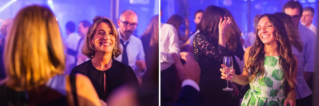 Ottavia Raffaelli danza in pista in compagnia degli ospiti