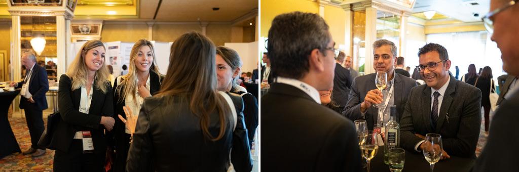 Gli ospiti brindano dopo il grande successo del congresso Annuale dell'EUGA
