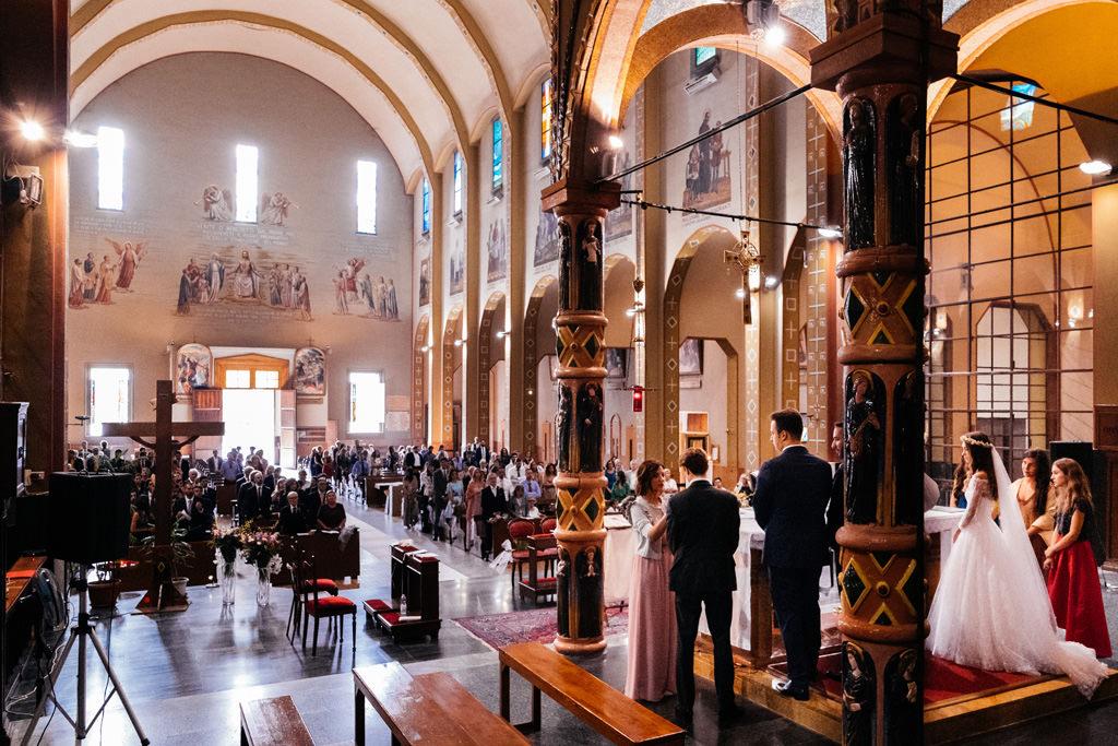 cerimonia in chiesa milano matrimonio andrea e cristina